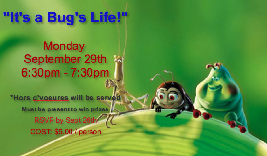It's a Bug's Life!