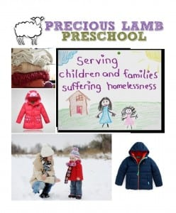 Precious Lamb Preschool Winter Coat Drive