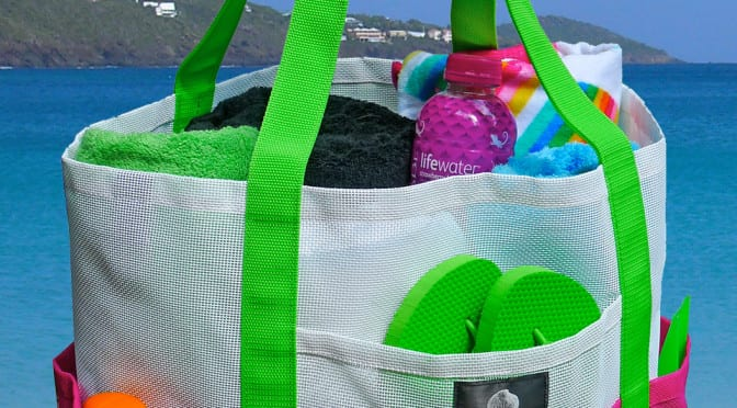beach bags for homeless preschool children